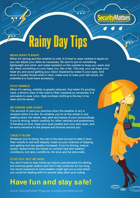 tips for day 100 best images about when it rains on