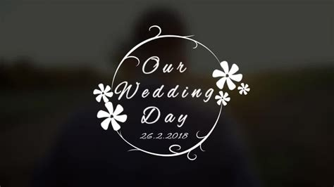 Wedding Title V4 After Effects Templates Motion Array Wedding Title Templates After Effects