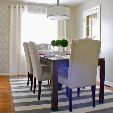 467 Best Dining Room Ideas Images On Pinterest Stenciled Dining Room Table