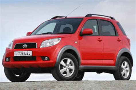 daihatsu terios fuel consumption figures daihatsu terios 1 5 sx drive review review autocar