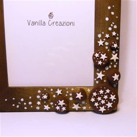 cornici fimo cornice portafoto in legno con dolci decorazioni in fimo