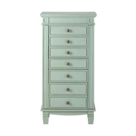 Home Decorators Jewelry Armoire by Home Decorators Collection Cordelia Antique Blue Jewelry