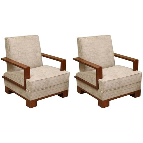 art deco armchairs for sale art deco walnut hungarian armchairs for sale at 1stdibs