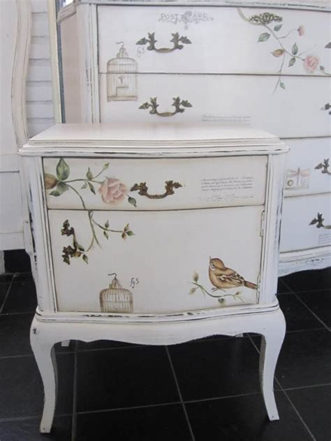 Decoupage Dresser - 25 best ideas about decoupage dresser on