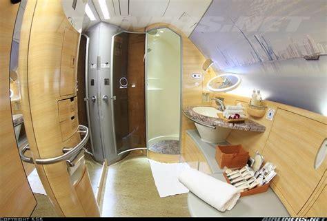 airbus a380 bathroom emirates a380 first class bathroom including a shower