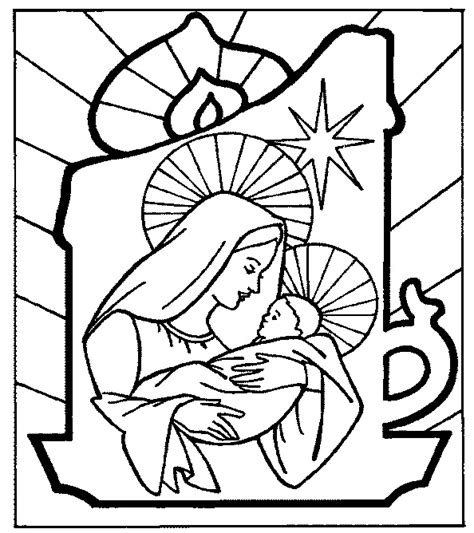 christian christmas coloring pages sketch coloring page