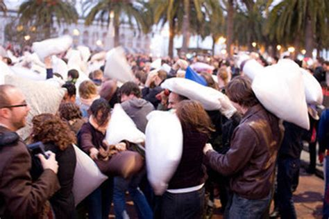 international pillow fight day los angeles april
