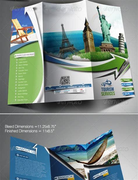 membuat brosur travel 25 contoh desain brosur tour travel terbaik inspiratif idea