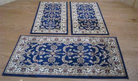 scendiletto persiani w525 tappeti letto 3 pezzi parure tris orientali