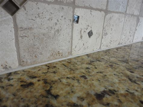 caulking kitchen backsplash grouting a backsplash to countertop joint with