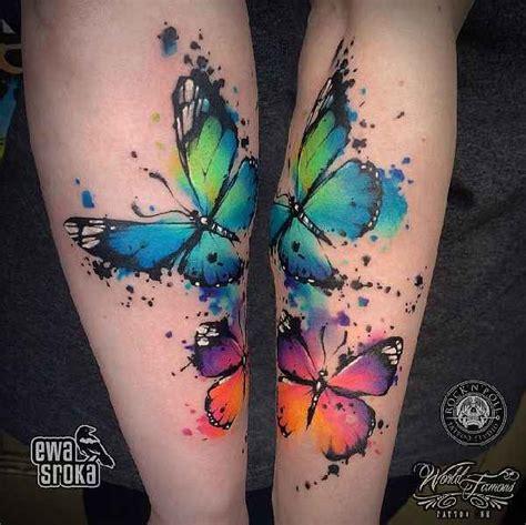 atemberaubende aquarelle mit ewa sroka tattoo spirit