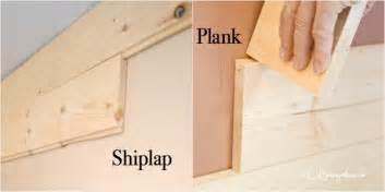 what is shiplap diy shiplap vs planked wood walls h20bungalow