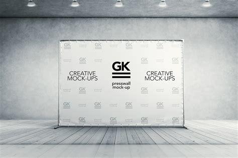 backdrop design mockup 3d press wall banner mock up on behance