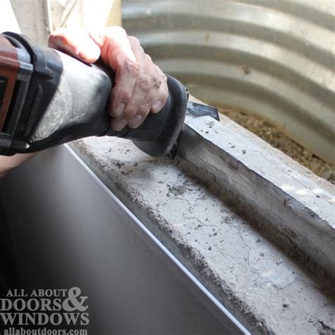 replacing basement windows concrete how to replace a basement window in concrete