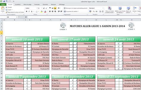 Calendrier 2016 Avec Jours Fériés Excel T 233 L 233 Charger Calendrier Ligue 1 2013 2014 Pour Windows