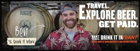 get paid 12k to taste beers and travel across the us this company will pay you 12k to drink beer while