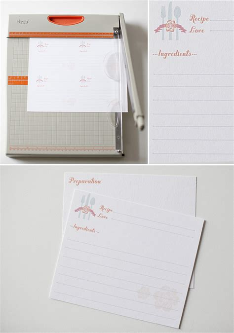 blank recipe cards for bridal shower blog bridal shower recipe cards template