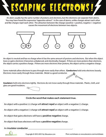 electricity worksheets education com all worksheets 187 electricity worksheets printable