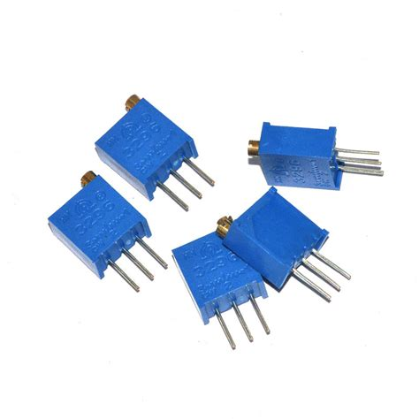 what is the description of a variable resistor 3296w 3296 w 100 to 1m ohm high precision variable resistor potentiometer