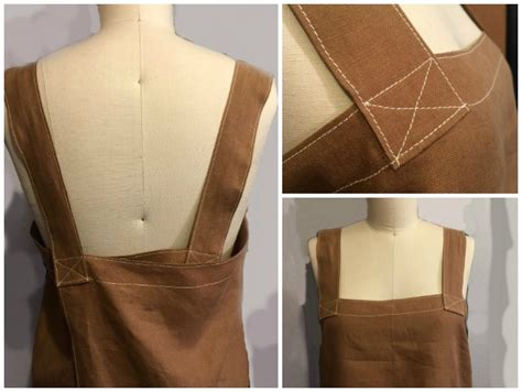 pattern for japanese apron japanese style smock apron to sew the daily sew