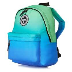 pack packs hype school back pack blue green free delivery options