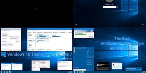 tech themes for windows 10 get and install windows 10 theme for windows 7 make tech