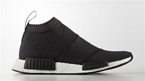 No City Black by Adidas Nmd City Sock Black Winter Wool Sneaker Bar