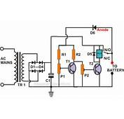 Self Regulating Lead Acid Battery Charger Circuit  Electronic