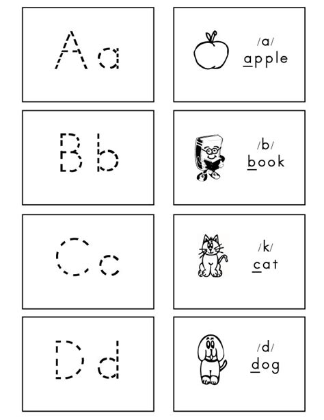 printable letter cards for tracing 7 best images of printable alphabet cards with lines