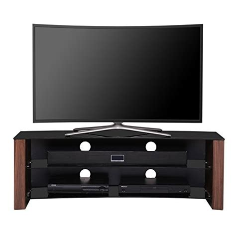 Tv Led Flat 32 Inch 1home curved tv stand fits 32 55 inch 4k ultra hd flat