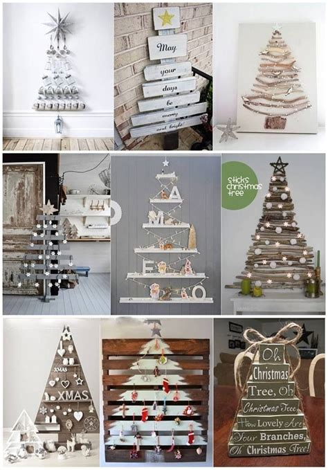 christmas tree ideas without the trees clever christmas