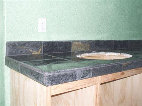 soapstone tile vanity countertop ceramic tile advice