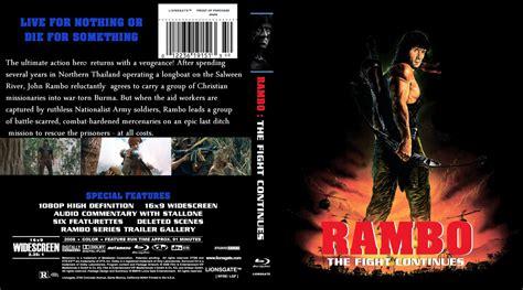 download film rambo 4 blu ray rambo iv the fight continues movie blu ray custom