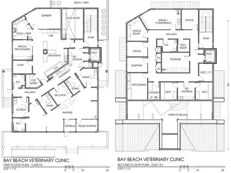 floor plan of a hospital veterinary floor plan bay beach veterinary hospital