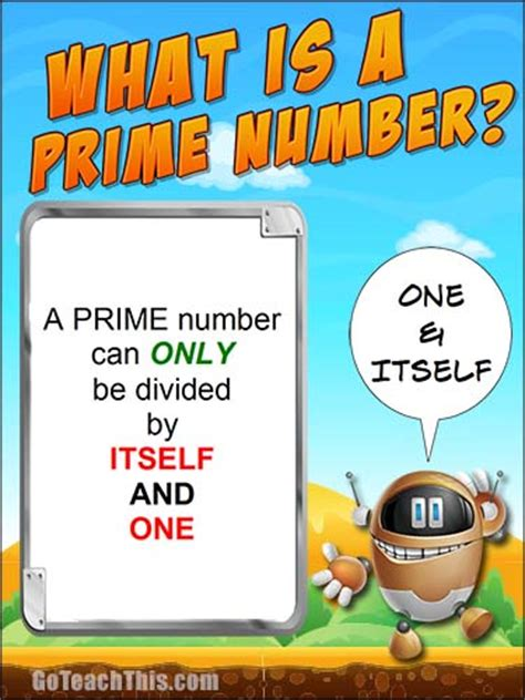 printable prime number poster what is a prime number first 100 primes prime numbers