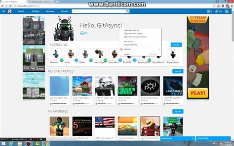 2011 roblox homepage gallery