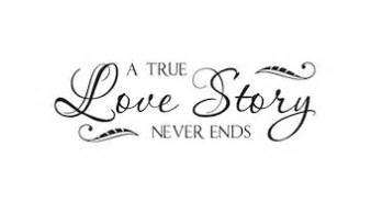 Live Laugh Love Wall Sticker a true love story never end vinyl lettering decor family
