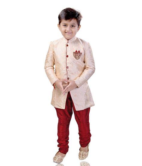 riwaaz cream mehroon color kurta pajama set with jacket mint cream brasso boy s dhoti kurta set buy mint cream