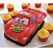 Lightning McQueen Birthday Cake With Pictures
