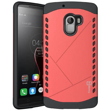 Resmi Lenovo Vibe K4 Note for lenovo vibe k4 note slim grip armor hybrid protective phone cover ebay