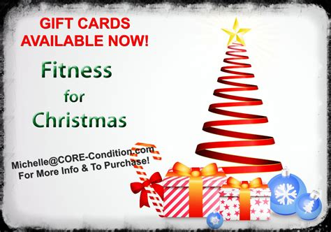 Gift Cards Available - holiday gift cards available core condition