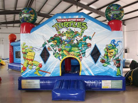 teenage mutant ninja turtles house ninja turtles inflatable bouncy house qiqi toys inflatables