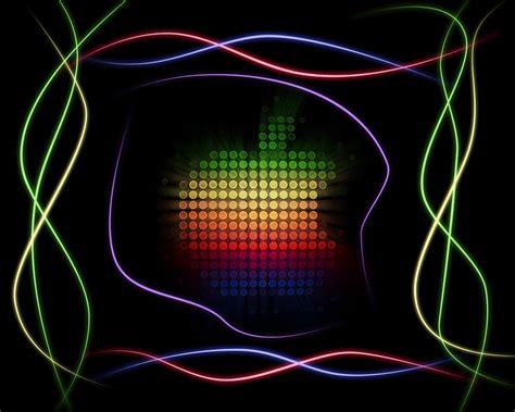 wallpaper apple neon neon apple 1280x1024 by kedzigfx on deviantart
