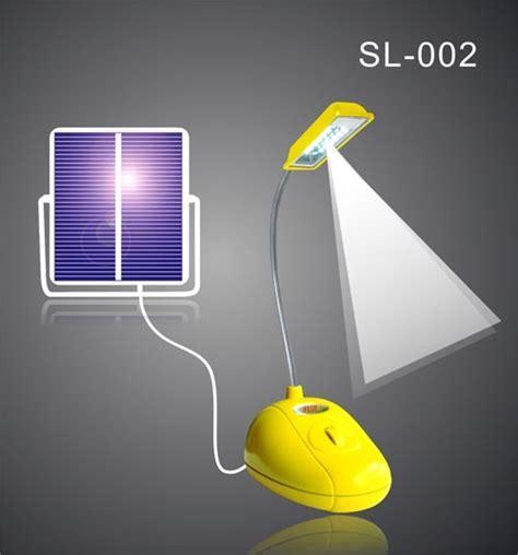 Solar Powered Reading Light Solar Reading Light Sl 002 Yellow China Solar Ls