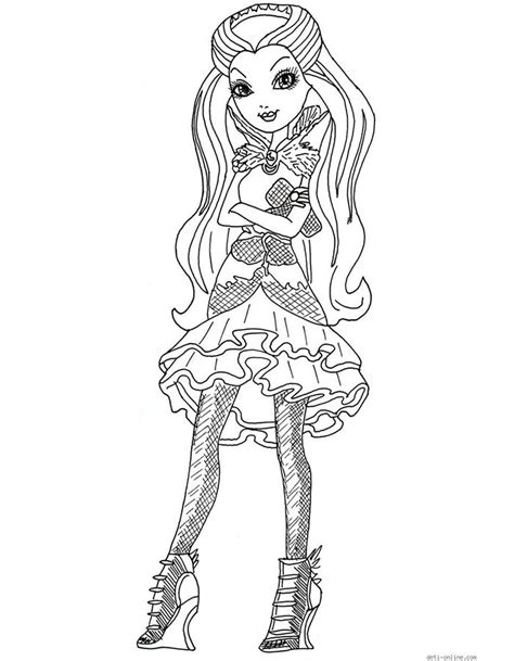 ever after high coloring pages that you can print раскраски эвер афтер хай распечатать картинки с