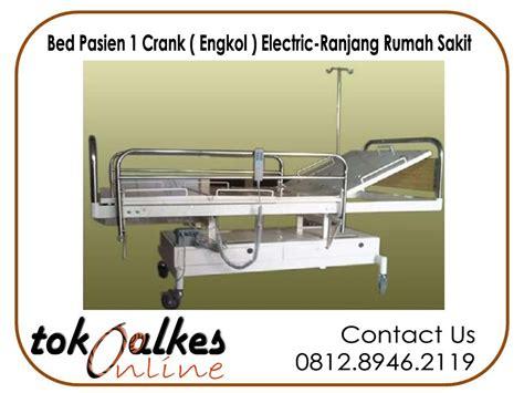 Tempat Tidur Electric bed pasien 1 crank electric ranjang pasien 1 engkol