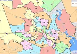 more on the house redistricting map and a second