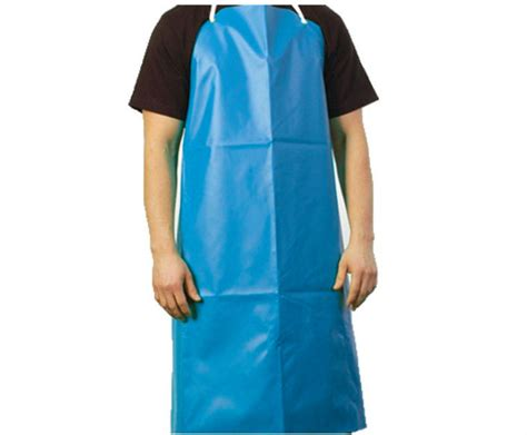 Sale Celemek Apron Karakter Waterproof pvc safety safety aprons industrial waterproof blue