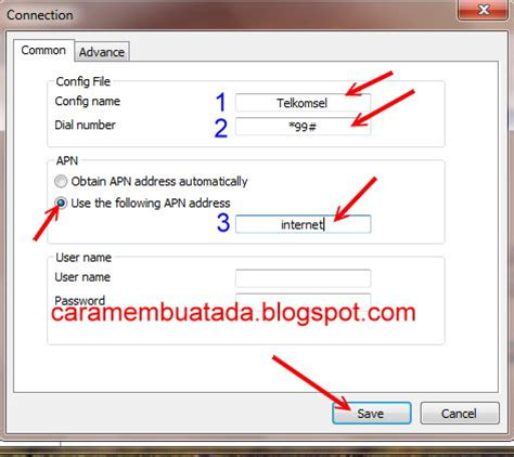daftar config telkomsel videomax cara setting modem internet telkomsel flash xl axis