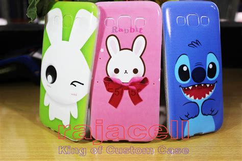 Softcase Handphone Cover Bening Motif Kartun jual asus samsung iphone oppo xiaomi lenovo sony